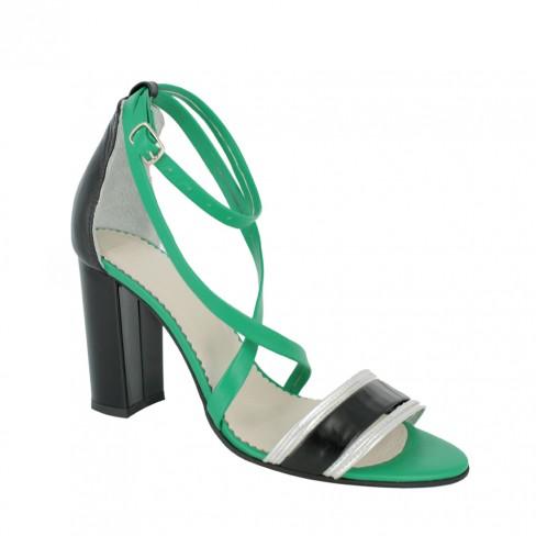 Sandale CRISANTEMO verde