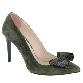 Pantofi BEGONIA verde