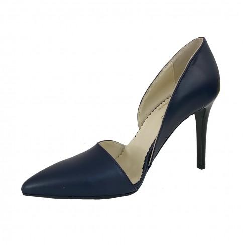 Pantofi TULIPANO albastru pigment