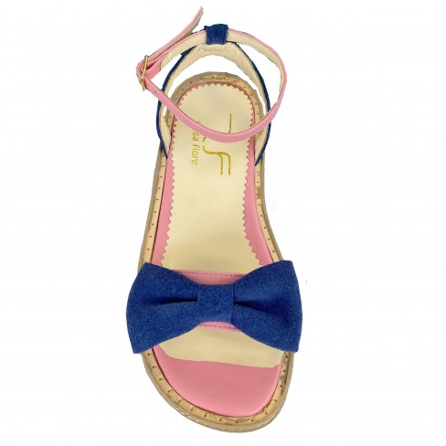 Sandale GYA roz albastru