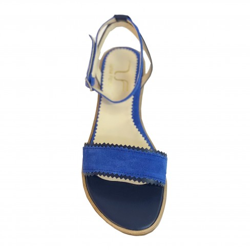 Sandale NESY albastru