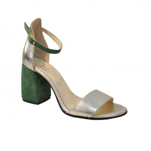 Sandale SOFY verde auriu