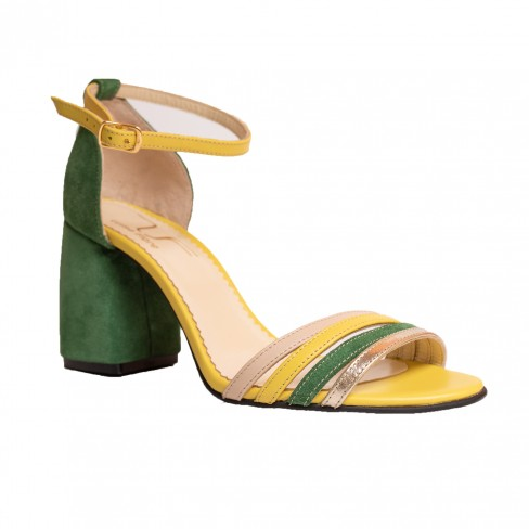 Sandale ANNE verde
