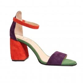 Sandale LIMONADE portocaliu / mov