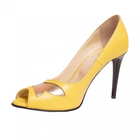 Sandale FARLA galben