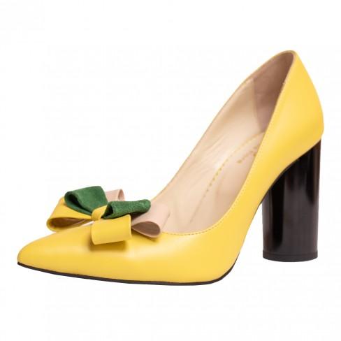 Pantofi GAROFANO galben