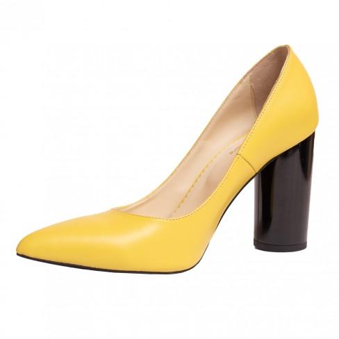 Pantofi ISA galben