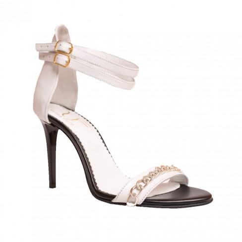 Sandale ROSSO alb