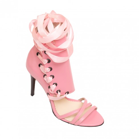 Sandale VISINA roz