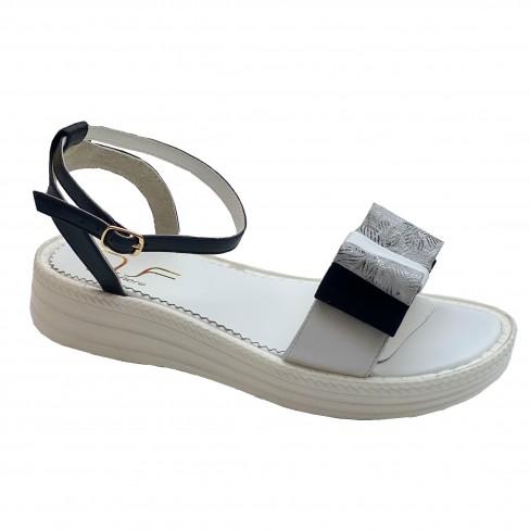Sandale FENA alb